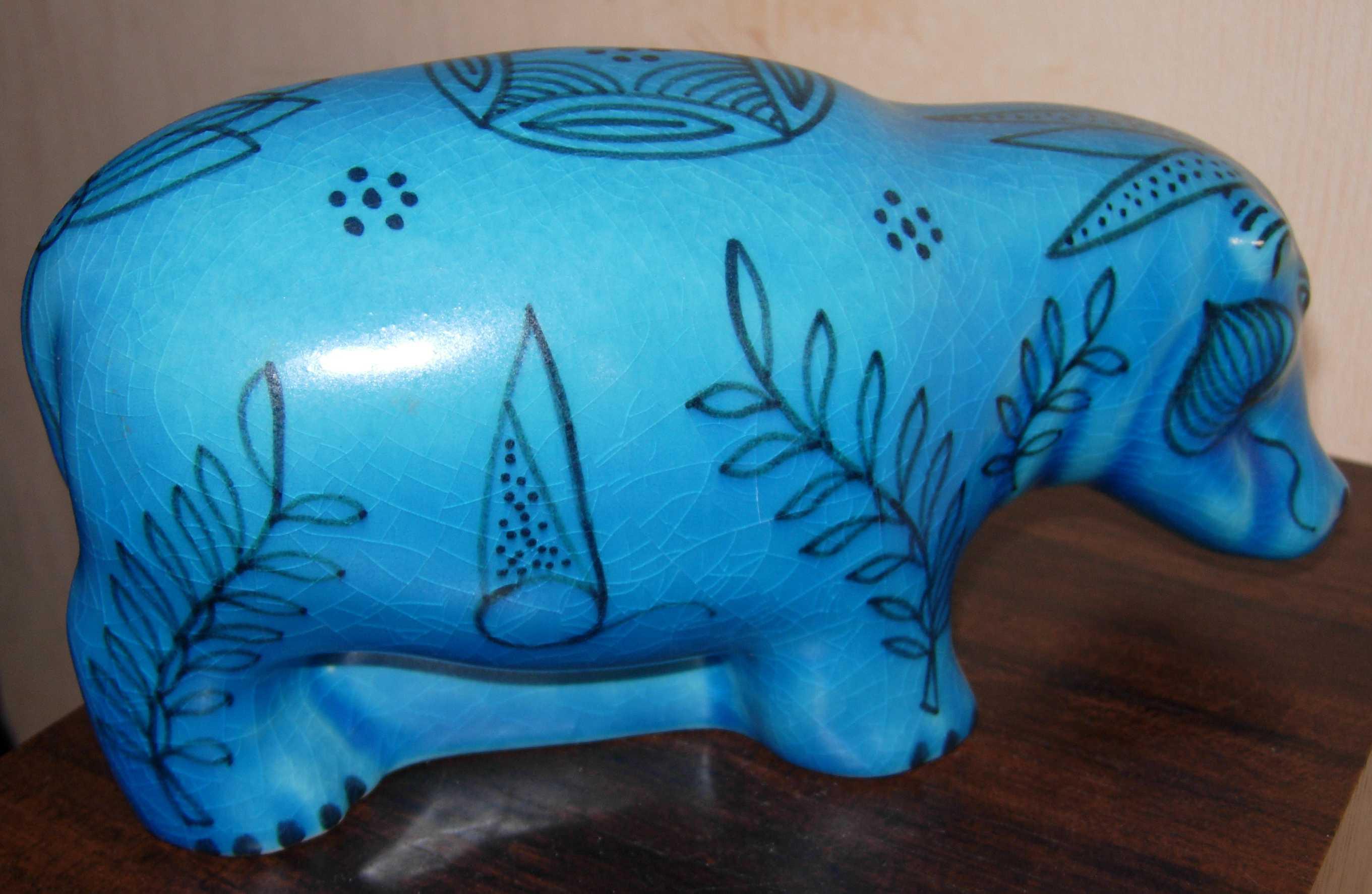 d58897f0373 Reproduction du musée du louvre du grand Hippopotame Egypte Moyen Empire